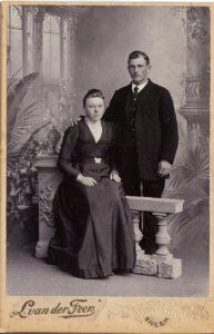 Tj Buma met zijn vrouw 2